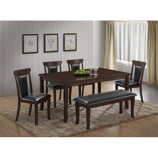 Harden 6 Piece Dining Set by Red Barrel Studio