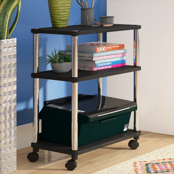 Georgette Office Caddy AV Cart by Zipcode Design