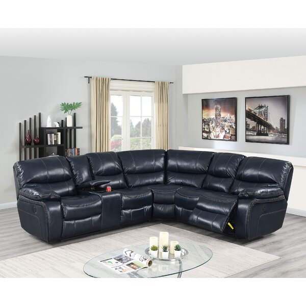 Maconay Symmetrical Reclining Sectional By Red Barrel Studio
