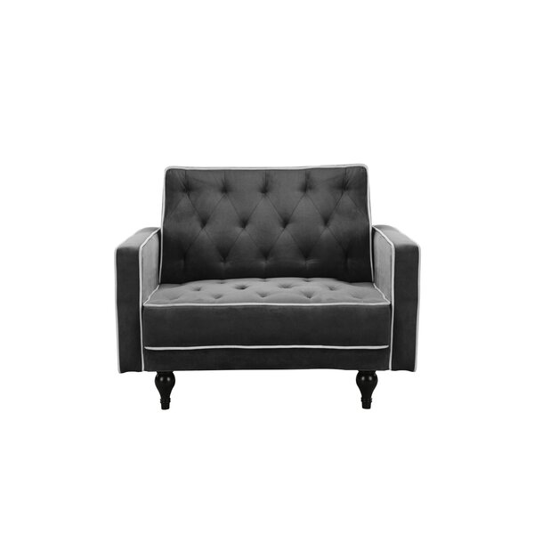 Thomson Tufted Convertible Chair by Mercer41