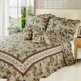 Dusty Rose Garden Reversible Quilt Set by DaDa Bedding