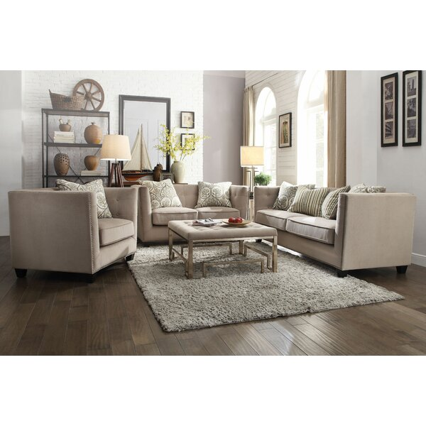 Southa Configurable Living Room Set by Canora Grey