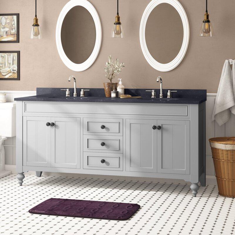 Charlton Home Shipststour 72 Double Bathroom Vanity Set Reviews Wayfair