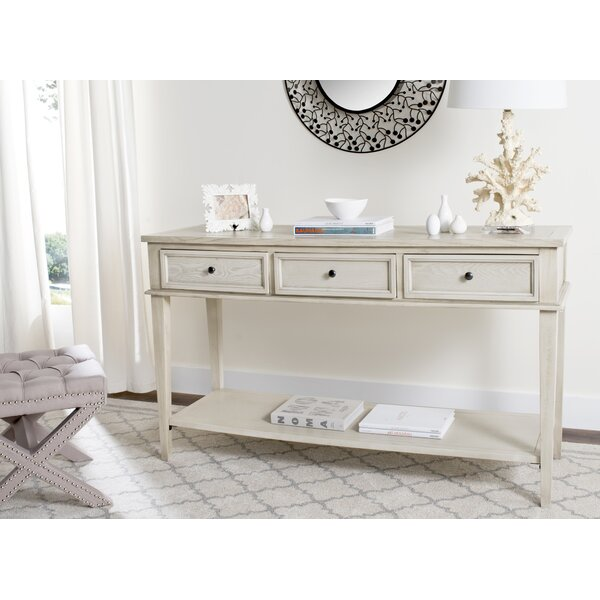 Yelena Modern Console Table by Rosecliff Heights