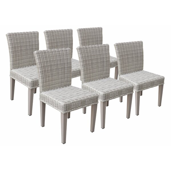 Samatha Patio Dining Chair (Set of 6) by Breakwater Bay