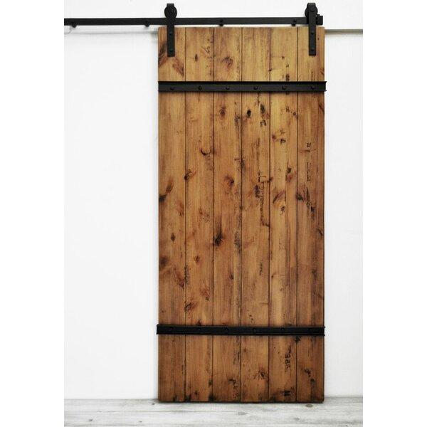 Celeste Wood 1 Panel Interior Barn Door by August Grove