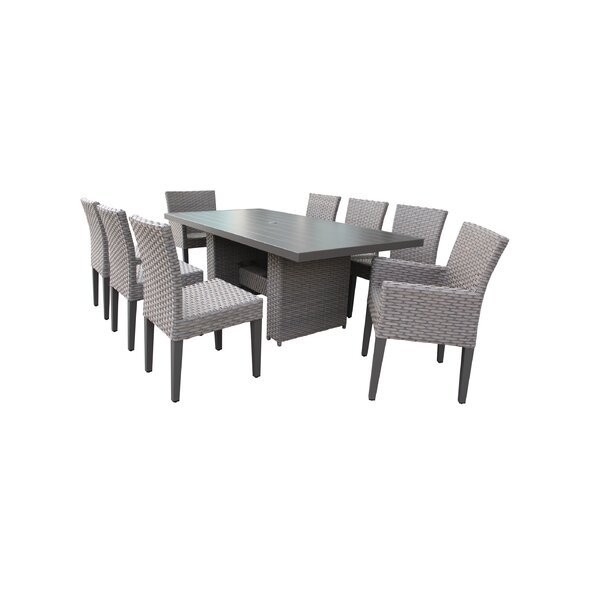 Kenwick 9 Piece Dining Set By Sol 72 Outdoor by Sol 72 Outdoor Coupon