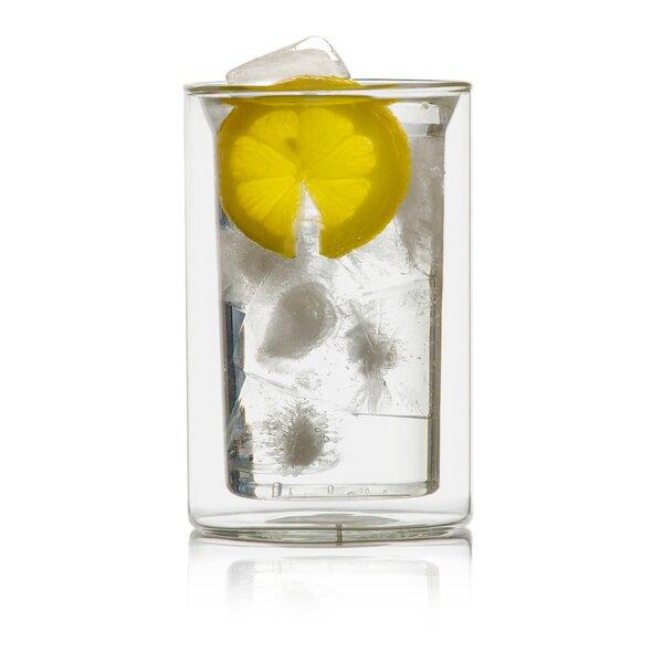 Bauhauss 9 oz. Double Wall Glass (Set of 2) by Highwave Inc.
