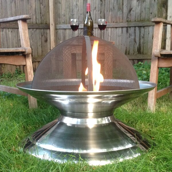 Stainless Steel Wood Burning Fire Pit by Pomegranate Solutions, LLC