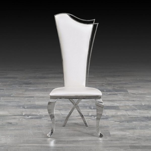 Frampton Cotterell Upholstered Dining Chair (Set Of 2) By Everly Quinn