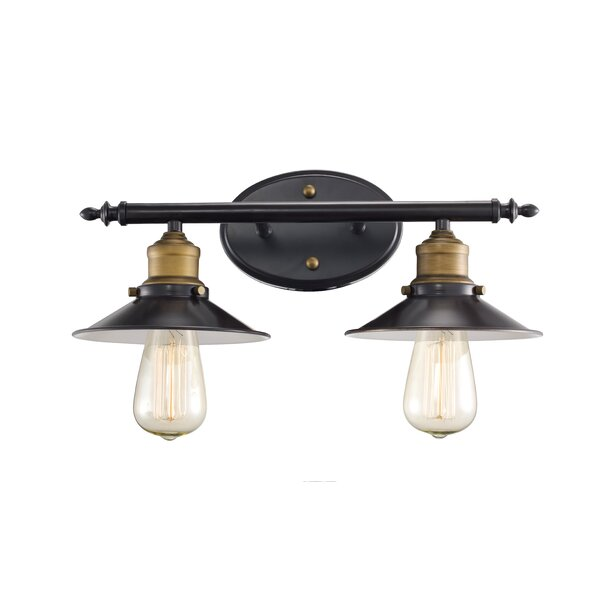 Baden-Powell 2-Light Vanity Light by Trent Austin