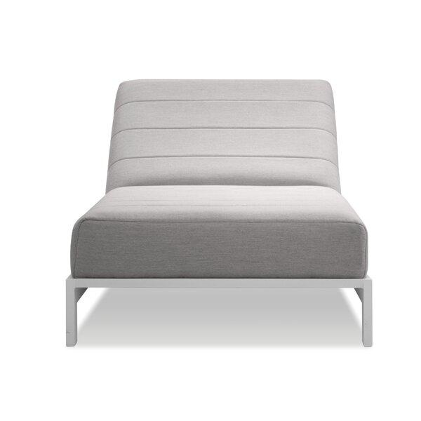 Feodora Recliner Patio Chair with Sunbrella Cushions by Latitude Run Latitude Run