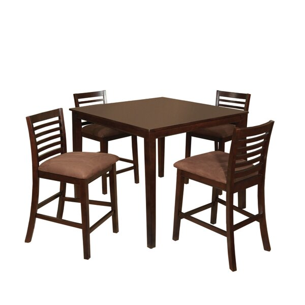 Sydney 5 Piece Counter Height Dining Set by Hokku Designs