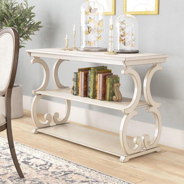 Lark Manor White Console Tables