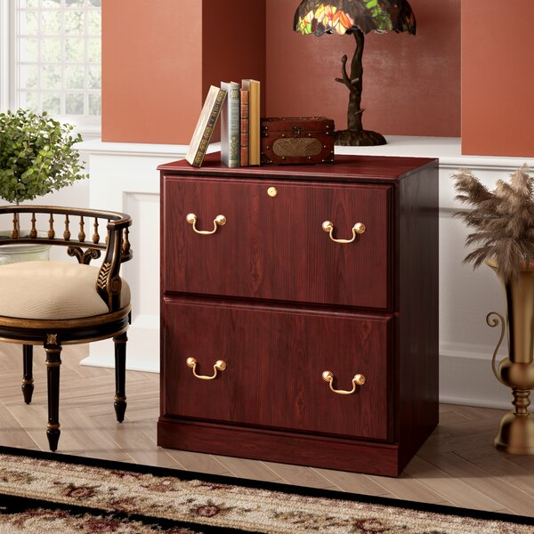 Cowdray Executive 2 Drawer Lateral Filing Cabinet by Astoria Grand