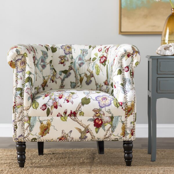 Huntingdon Chesterfield Chair by Three Posts