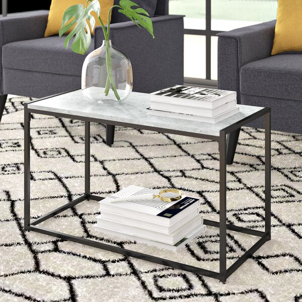 Andresen Modern Coffee Table by Wrought Studio