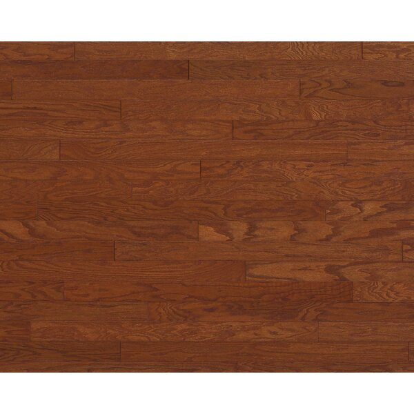 Madison Cove 3 Engineered Oak Hardwood Flooring in Gunstock by Welles Hardwood