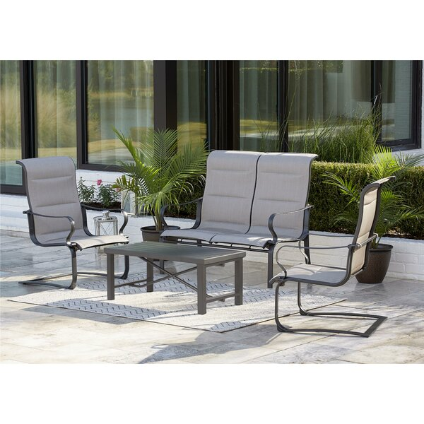Coyle 4 Piece Conversation Set by Red Barrel Studio