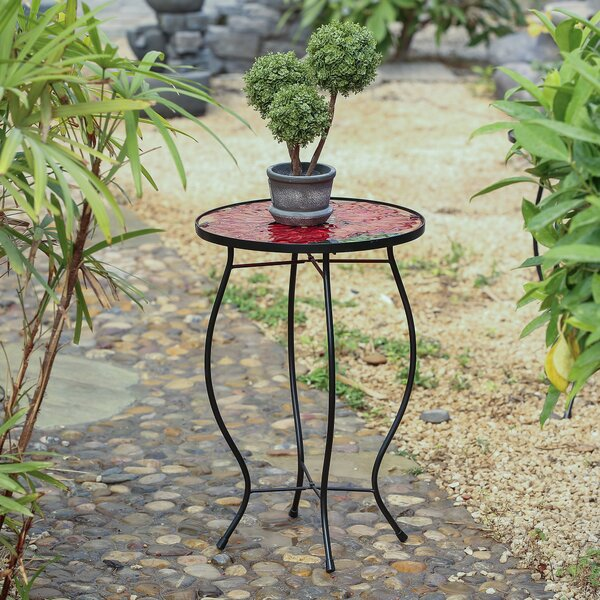 Carle Flower Plant Table by Fleur De Lis Living