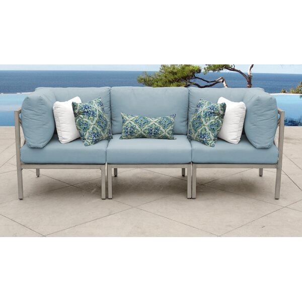 Carlisle Patio Sofa with Cushions by TK Classics