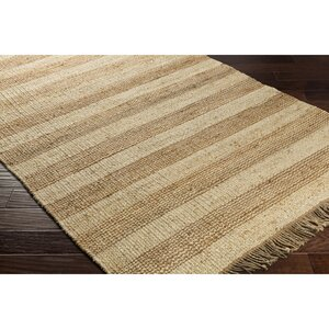 Charlemont Hand-Woven Brown/Neutral Area Rug