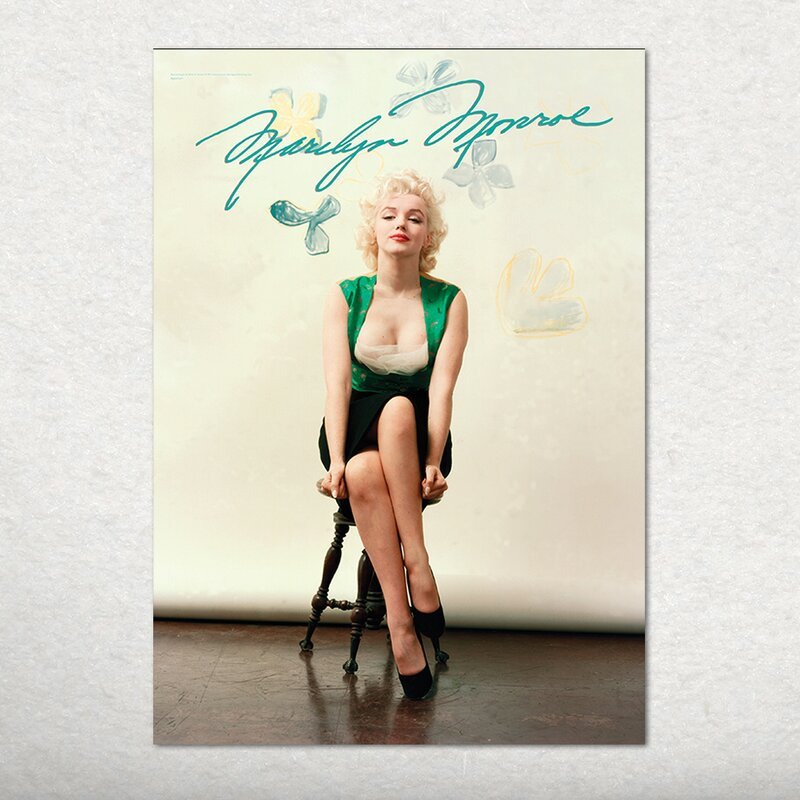 Marilyn Monroe (Signature) Graphic Art