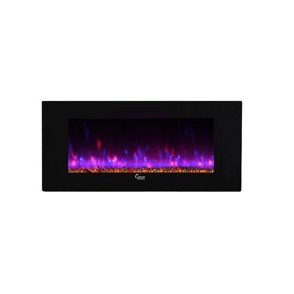 Blackwell Wall Mounted Electric Fireplace by Ivy Bronx