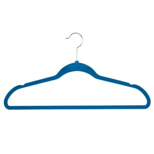 Online Reviews Flocked Suit Plastic Non-Slip Hanger (Set of 25) By Honey Can Do