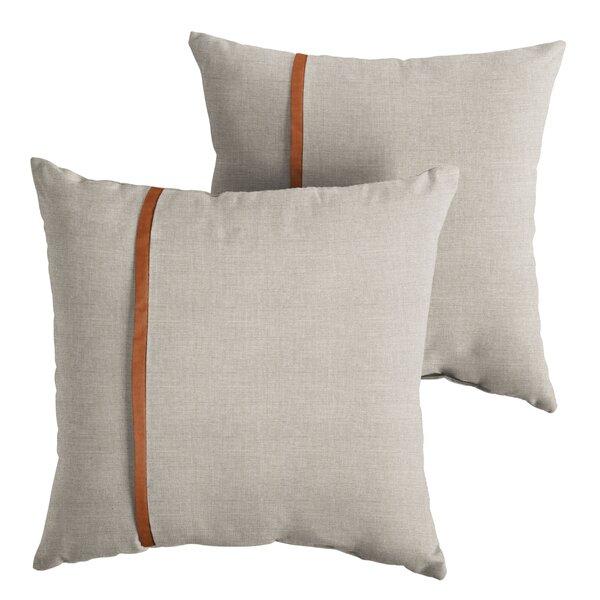 Christner Indoor/Outdoor Throw Pillow (Set of 2) by Corrigan Studio