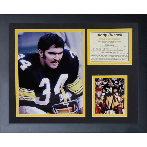 Andy Russell Framed Memorabilia by Legends Never Die