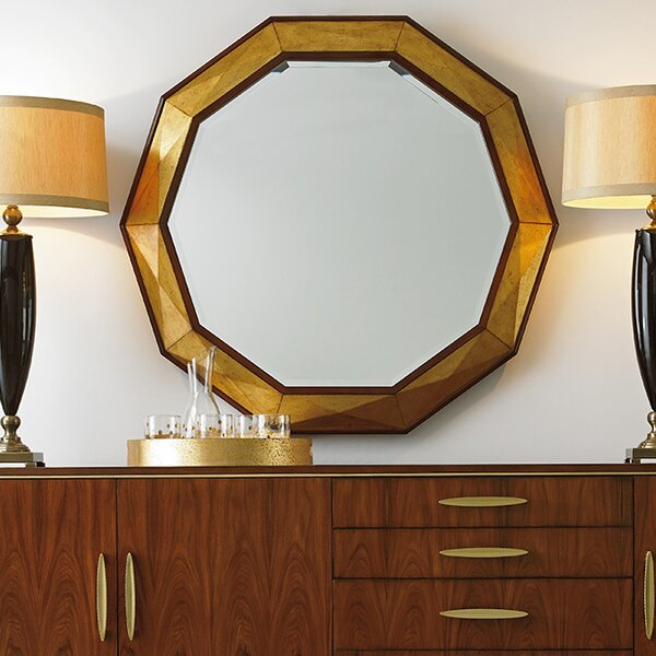 Take Five Savoy Faceted Accent Mirror by Lexington
