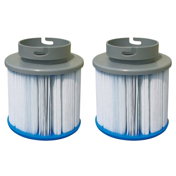 M-Spa Inflatable Replacement Filter Cartridges (Set of 2) by Smart Spa