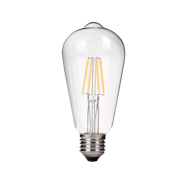 E26 Medium LED Vintage Filament Light Bulb (Set of 4) by emark