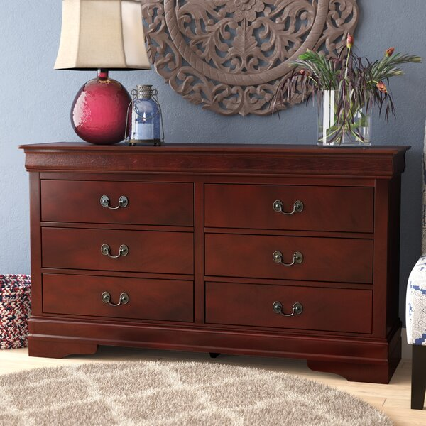 Oldbury 6 Drawer Double Dresser by Darby Home Co