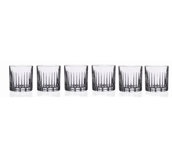 Timeless RCR 12 oz. Crystal Cocktail Glass (Set of 6) by Lorren Home Trends