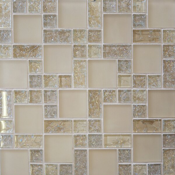 Staccato 12.63 x 12.63 Mosaic Gloss Matte Tile in Tawny by Grayson Martin
