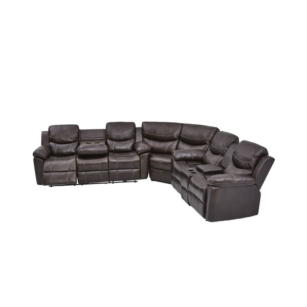 Home & Outdoor Lovella Reversible Reclining Sectional