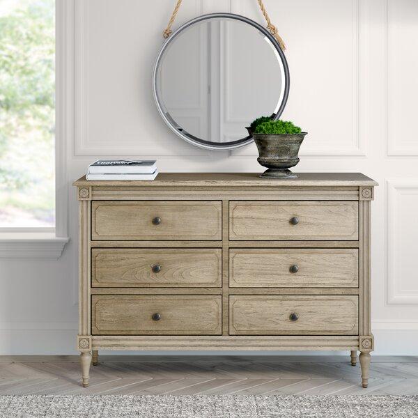 Broadway 6 Drawer Double Dresser by Greyleigh