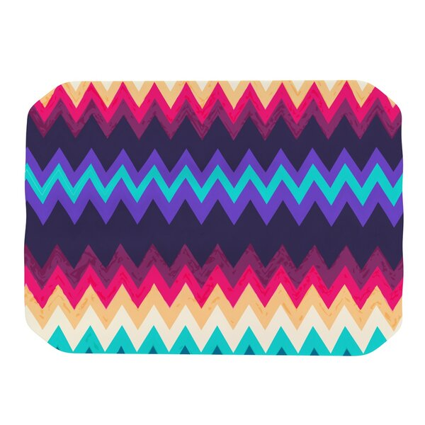 Surf Chevron Placemat by KESS InHouse