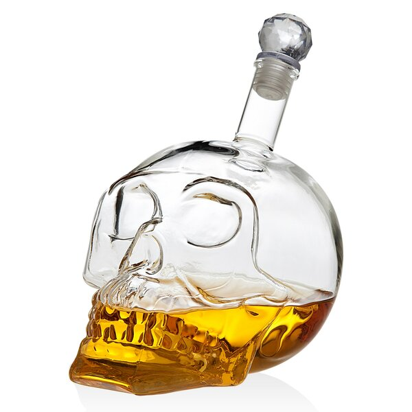 Nicolas Skull 23.66 oz. Decanter by The Holiday Aisle