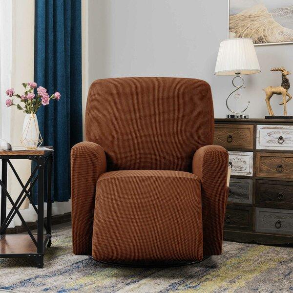 Arainy Jacquard Box Cushion Recliner Slipcover By Winston Porter