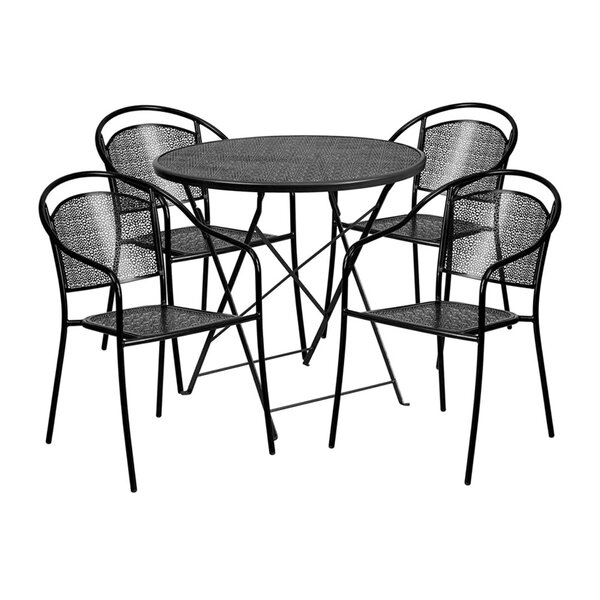 Senna 5 Piece Dining Set by Ebern Designs