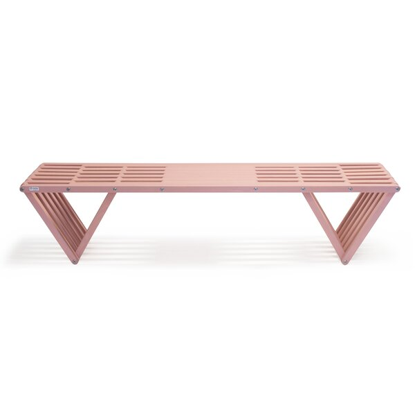 Xquare Eco-Friendly X70 Pine Garden Bench by GloDea