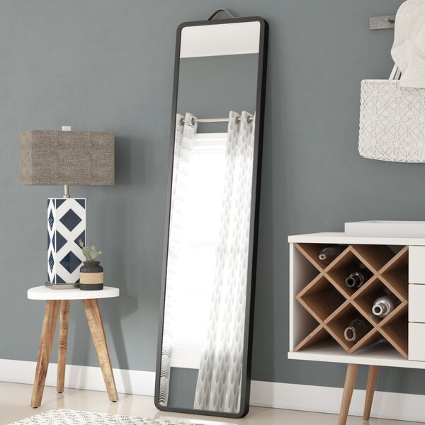Modern Floor Leaning Full Length Mirror by Latitude Run