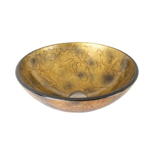 Looking for Copper Shapes Glass Circular Vessel Bathroom Sink By VIGO