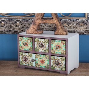 Wood Jewelry Chest by Cole..
