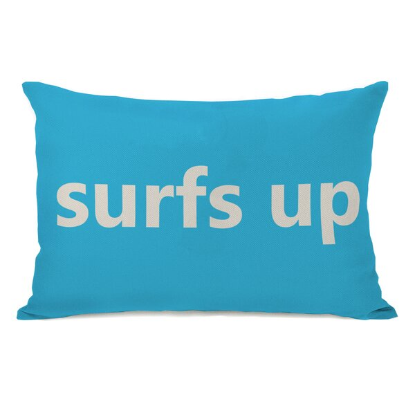 Surfs Up Lumbar Pillow by One Bella Casa