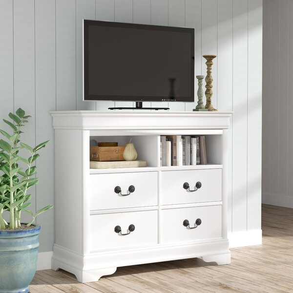 Babcock 4 Drawer Media Chest by Lark Manor