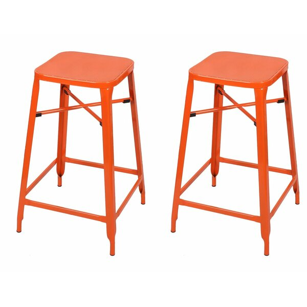26 Bar Stool (Set of 2) by Adeco Trading